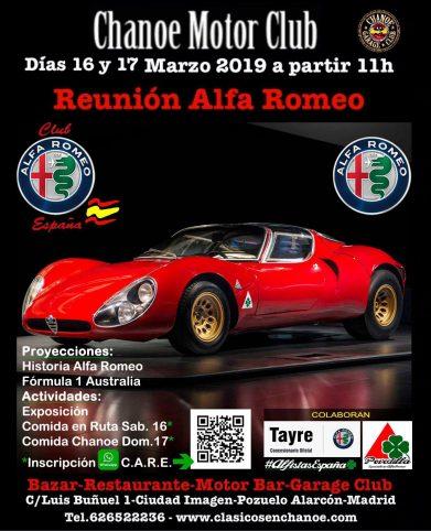 Cartel Chanoe 2019 realizado por Talleres Povedilla